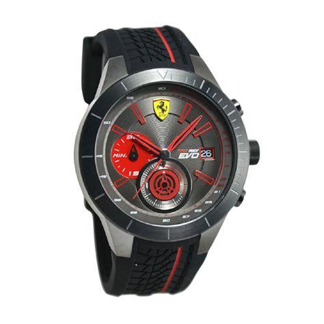 Jam Tangan Pria Wanita Jam Tangan Ferarri Jtr 399 Hitam jual 0830341 jam tangan pria hitam