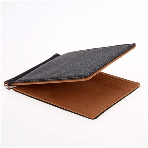 Kulit Synthetic Leather Merek Mirage kopen wholesale heren lederen portemonnee uit china