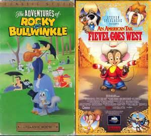 The Brave Little Toaster 1991 Vhs The Adventures Of Rocky Amp Bullwinkle V 5 La Grande Moose