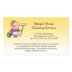 house cleaning business card exles house cleaning loyalty busines zazzle