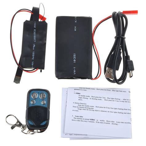 Kamera Pengintai Diy Hd 1080p With Wireless Remote 1 kamera pengintai hd 1080p dengan remot kontrol wireless black jakartanotebook