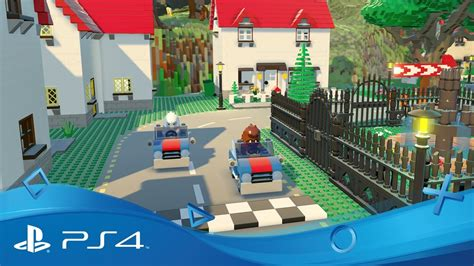 Ps4 Playstation 4 Lego Worlds lego worlds announce trailer ps4