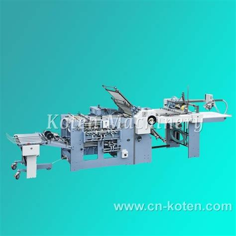Industrial Paper Folding Machine - paper folding machine zyh660d koten china