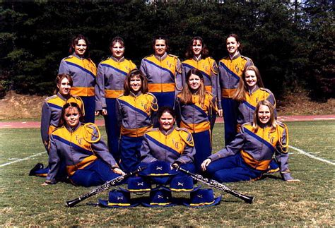 fannin county bands marching band section photos 2003