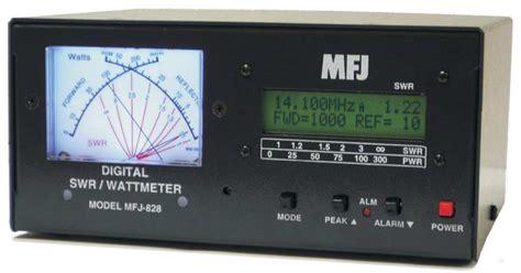 Swr Meter Digital mfj 828 digital swr wattmeter mfj828
