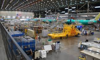 look at boeing s new p 8a poseidon production line