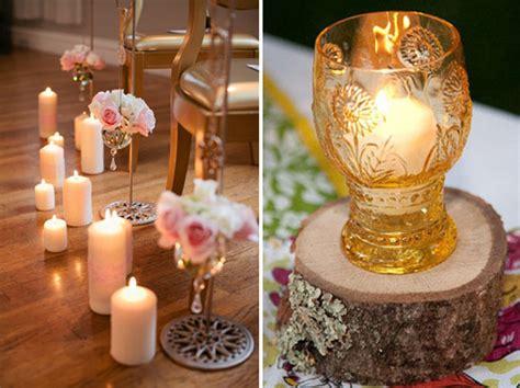 adornos de mesa para bodas con velas centros de mesa para bodas 76 ideas originales y f 225 ciles