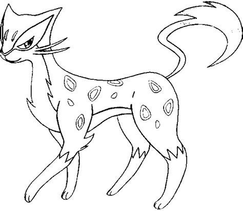 pokemon coloring pages purrloin coloring pages pokemon liepard drawings pokemon