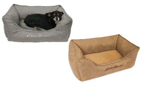 eddie bauer high wall pet bed groupon goods