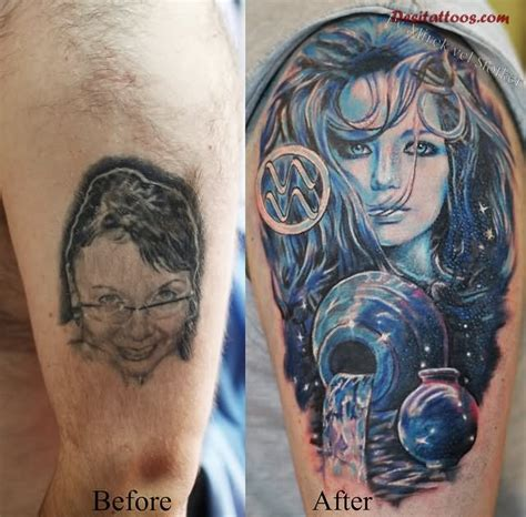 aquarius tattoos for females 55 cool aquarius tattoos