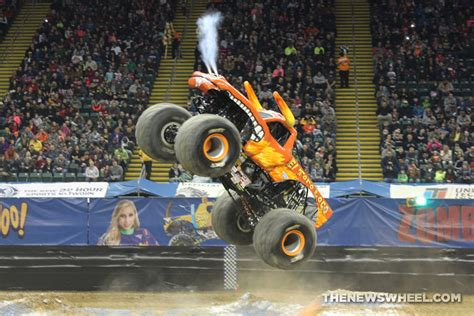 monster truck show ny monster jam show dayton el toro loco truck jump the news