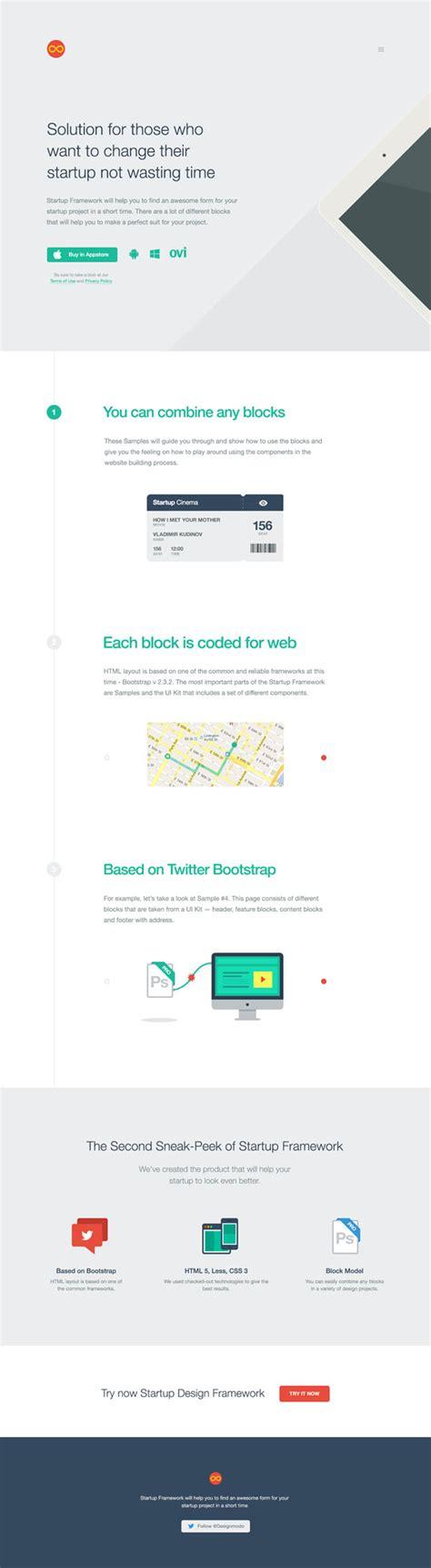 event design framework startup design framework download free psd and html