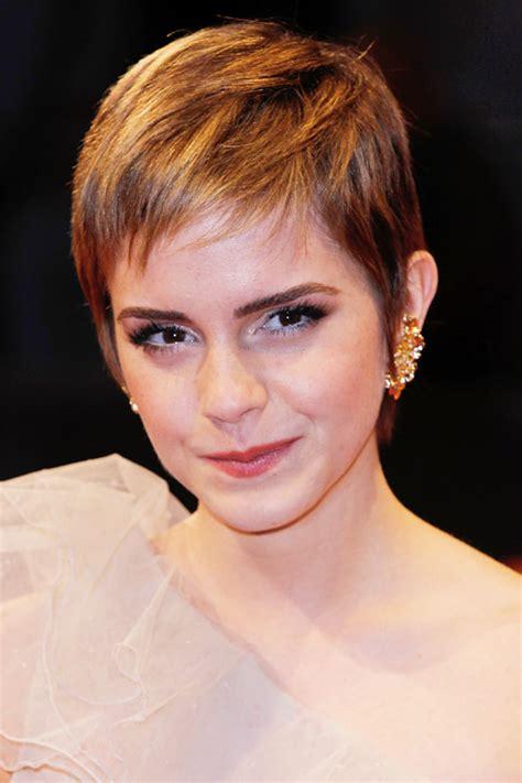 Short Hairstyles and Cuts   Emma Watson Short Cut