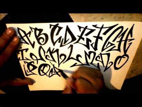 graffiti alphabet tagging style youtube