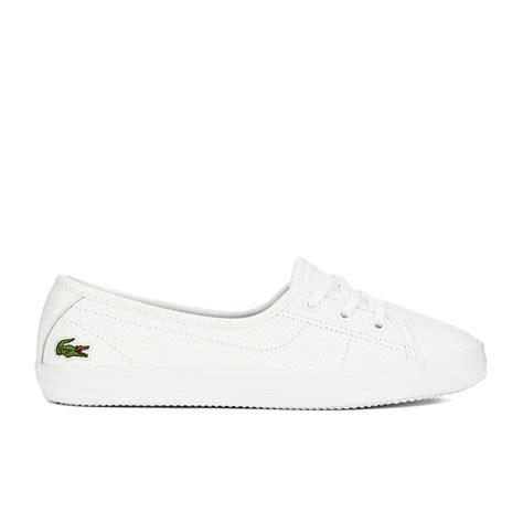 womens lacoste sneakers lacoste s ziane chunky 116 2 leather lace pumps in