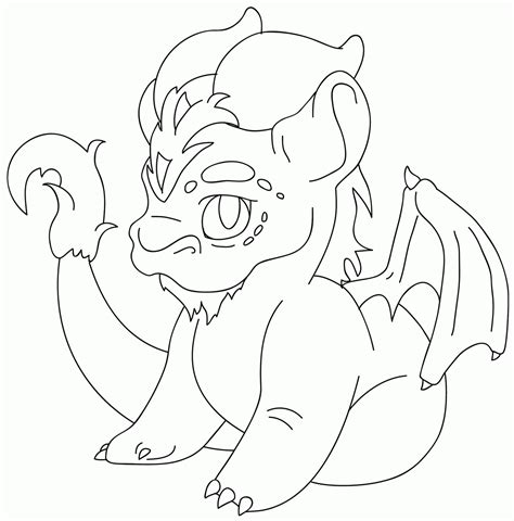 coloring pages of cute dragons baby dragon flying coloring page az coloring pages