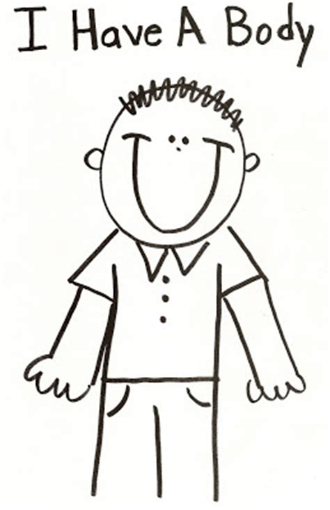 boy body coloring page lds nursery color pages 16 i have a body