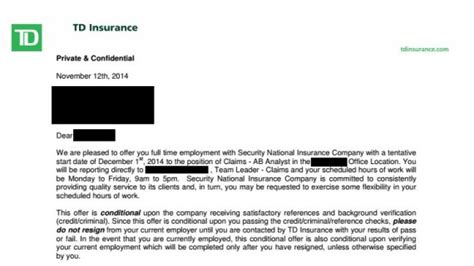 Td Bank Letter Of Credit Use Of Credit Checks To Screen Applicants Growing In Canada As U S Cls