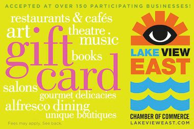 Who Buys Gift Cards Locally - lakeview gift card helps merchants shoppers get a bonus lakeview chicago dnainfo