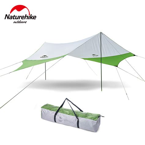 2017 new naturehike large outdoor awning tent cing bbq