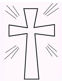 easter cross template printable free printable cross coloring pages what does
