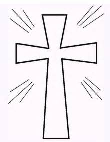 cross coloring page free printable cross coloring pages what does