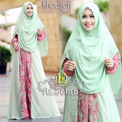 Gamis Khadijah Syari Pink khadijah e baju muslim gamis modern