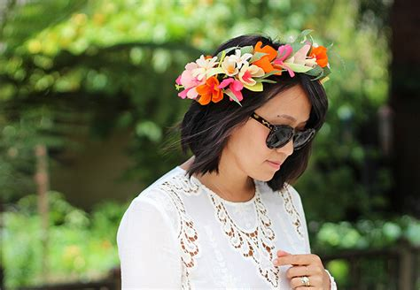 How To Make A Flower Crown With Paper - diy paper flower crown