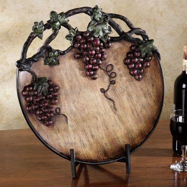 Decorative Grape Plates by 17 Best Images About Grape And Wine Kitchen Decor On