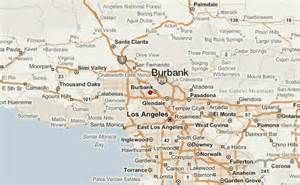 where is burbank california on the map burbank location guide