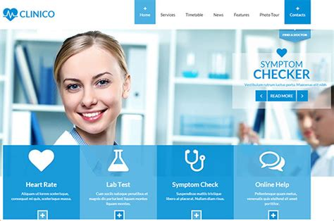 Doctor Website Template by 19 Doctor Website Themes Templates Free Premium