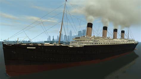 sinking boat gta 5 grand theft auto iv titanic mod hd youtube
