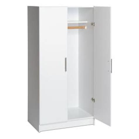 prepac 32 in elite wardrobe cabinet wew 3264 the home depot