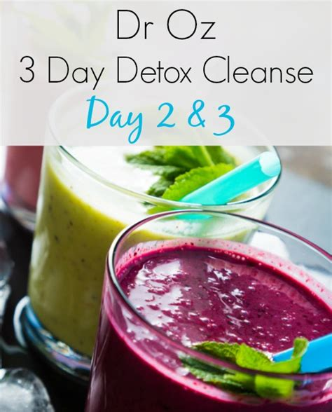 Detox Day 2 by Dr Oz 3 Day Detox Cleanse Day 2 3