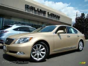 2007 Lexus Ls460 For Sale 2007 Lexus Ls 460 In Golden Almond Metallic 032832