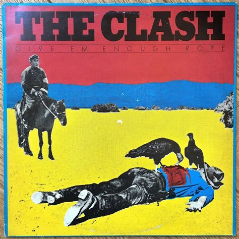 Clash Give Em Enough Rope Cd give em enough rope by the clash lp 180 220 gr with labelledoccasion ref 118945905
