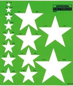 rapidesign r 2013 stars drafting template metric star