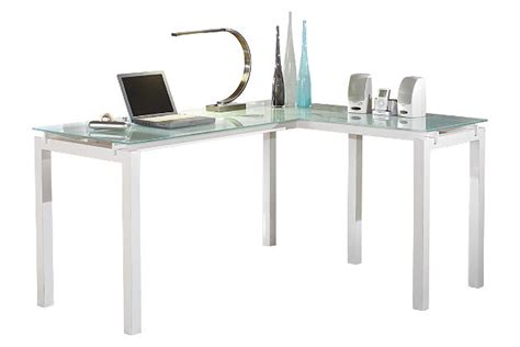 ashley furniture white desk baraga 61 quot home office desk ashley furniture homestore