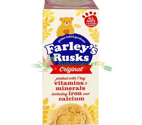 Farleys Rusks Banana ready meals biscuits supermarketcy cy