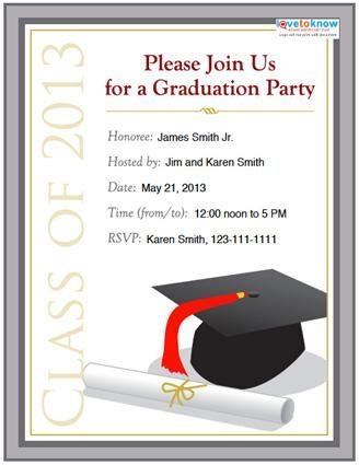 graduation invitations templates free best template