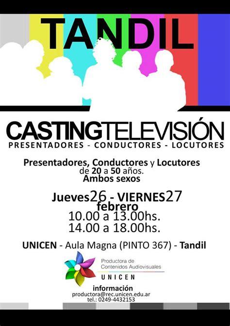comedor tandil unicen productora unicen har 225 casting para televisi 243 n los d 237 as 26