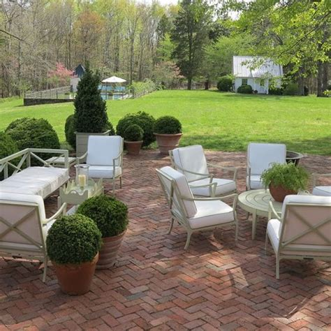 the brick patio furniture 18 brick patio ideas with pros and cons shelterness
