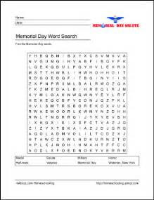 memorial day printables memorial day wordsearch