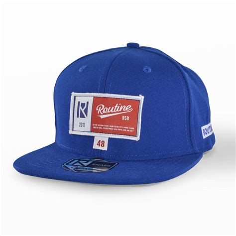 uni fitted hat routine baseball