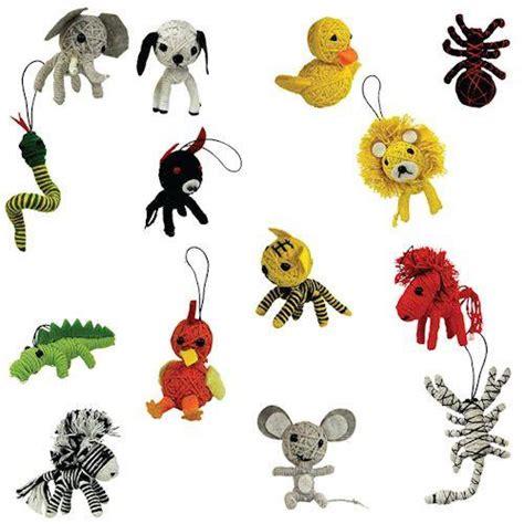 String Animals - bulk animal string dolls gumball