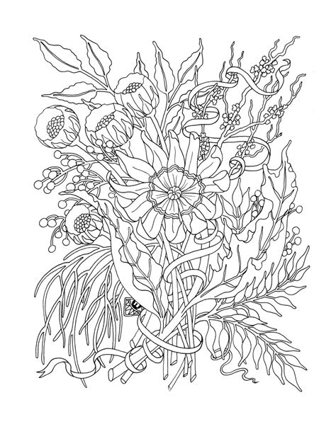 coloring book for adults flowers flower coloring pages for adults bestofcoloring