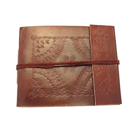 Handmade Leather Photo Album - handmade leather photo albums by paper high