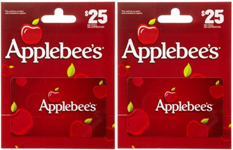 Gift Card Applebees - hot 18 75 reg 25 applebee s gift card free shipping