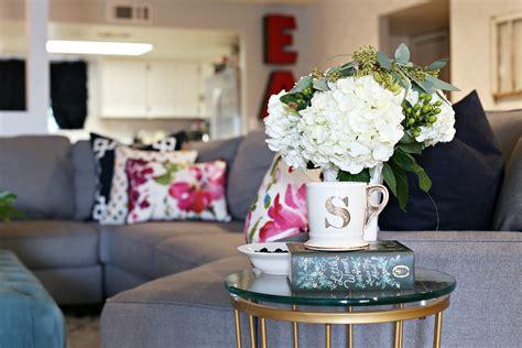 living room flower arrangements room reveals archives clutter