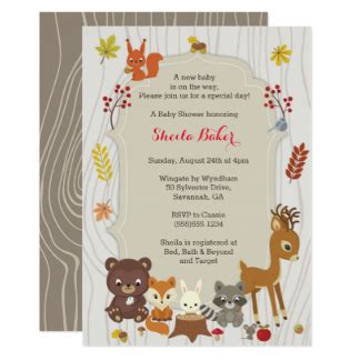 Fall Themed Baby Shower Invitations by Baby Shower Invitations Announcements Zazzle Ca
